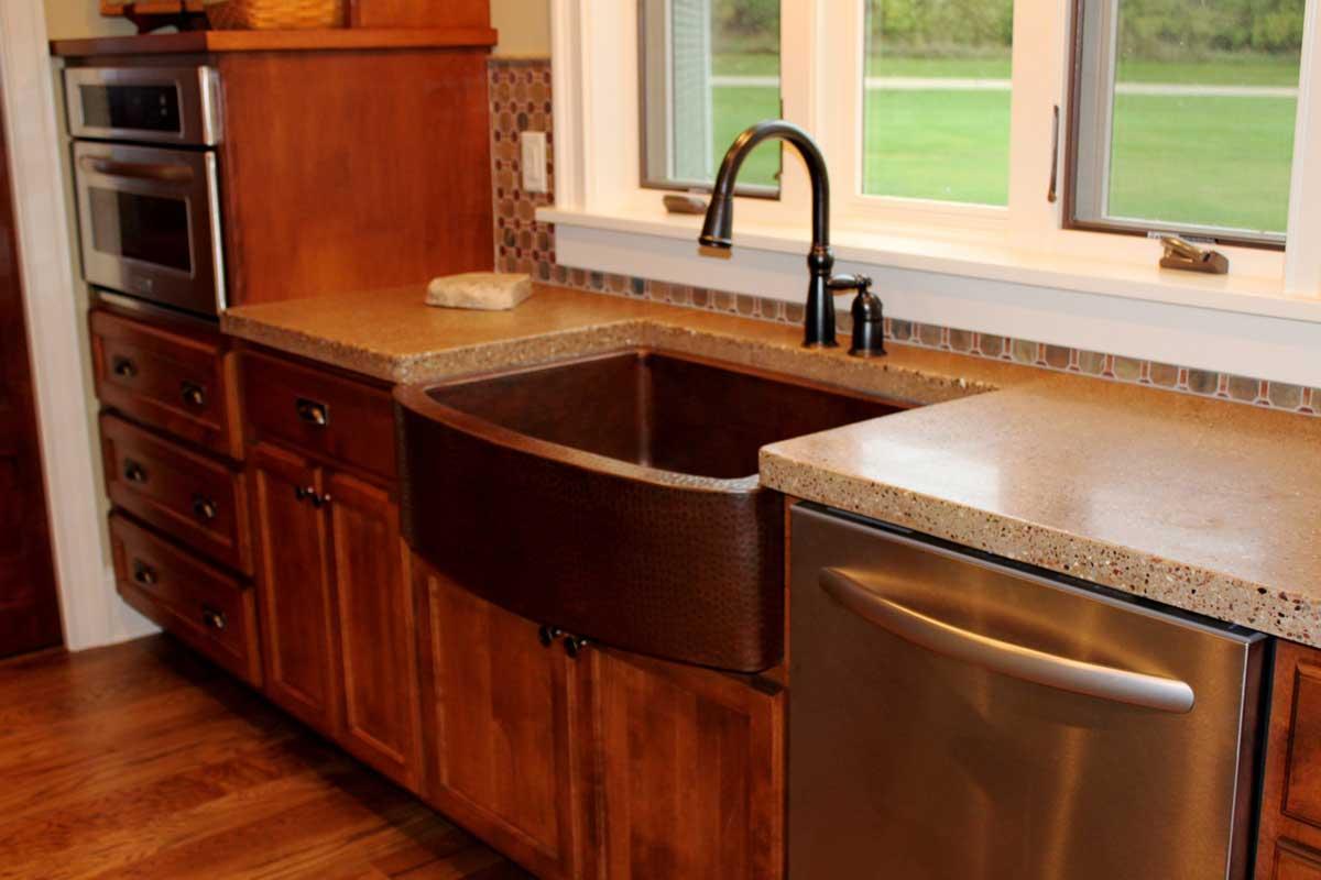 Stained Concrete Kitchen Floor Panda Blog